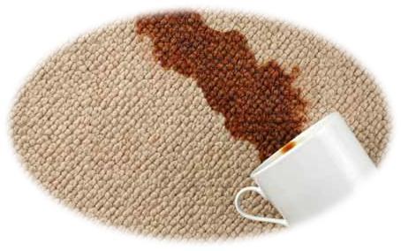 eliminar las manchas de la alfombra