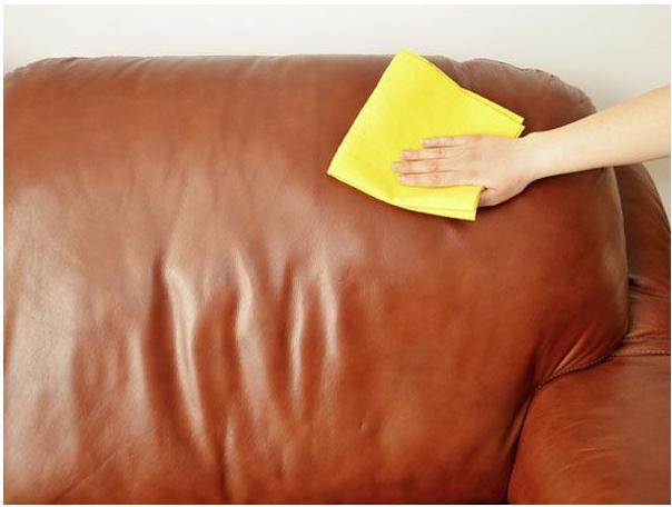 mantenimiento de muebles de cuero