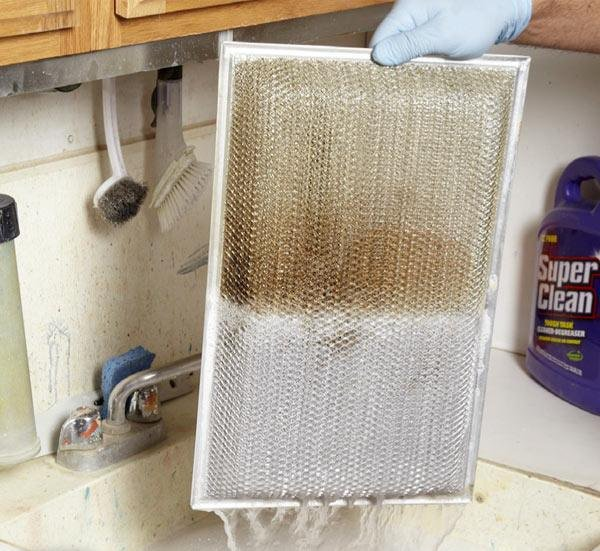 Neteja filtro campana extractora