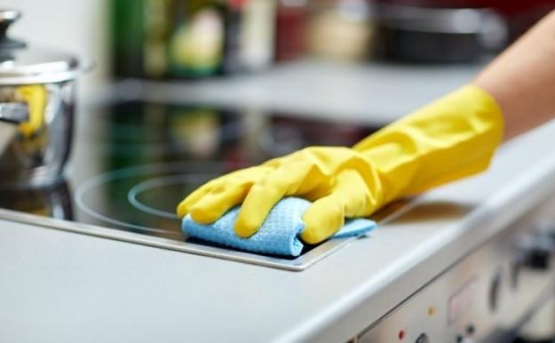 limpiar la vitrocerámica