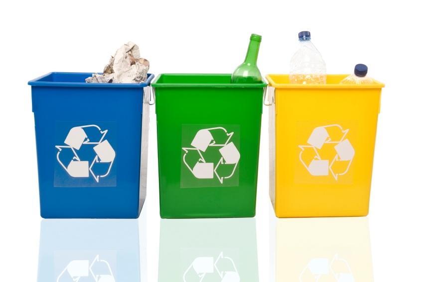 reciclaje y limpieza del hogar
