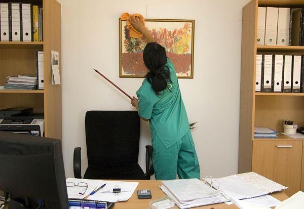 servei de neteja d'oficines